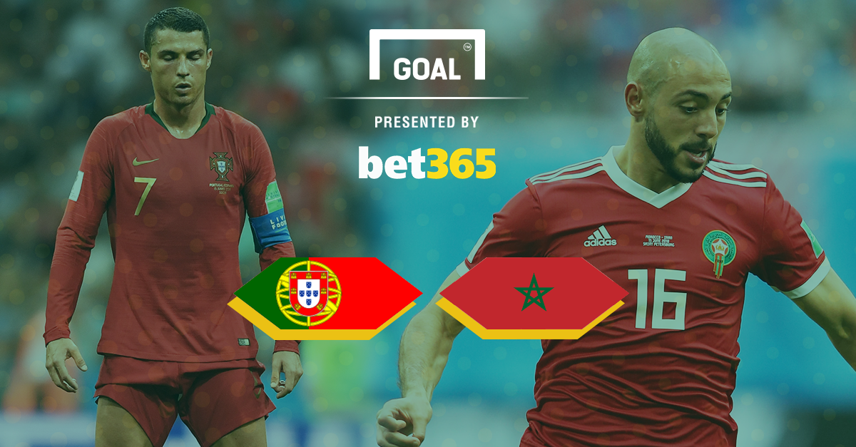 Portugal v Morocco Bet 365