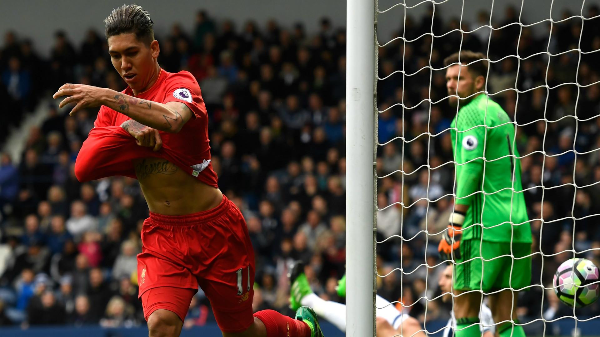 HD Roberto Firmino Liverpool celebrates