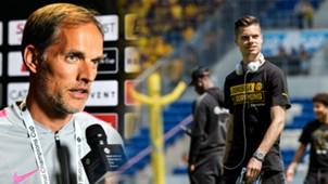 GFX Thomas Tuchel Julian Weigl PSG Borussia Dortmund