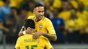 Neymar Paulinho Brazil 112016