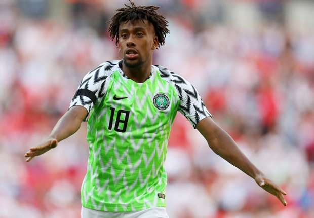 b9ce52b83 EXTRA TIME  Iwobi s Arsenal teammate Aubameyang pleads for Nigeria World  Cup kit