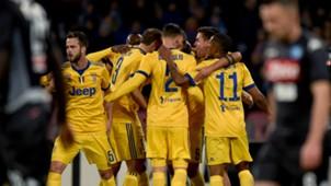 Juventus celebrating Napoli Juventus Serie A
