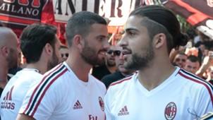 Mateo Musacchio Ricardo Rodriguez AC Milan 05072017