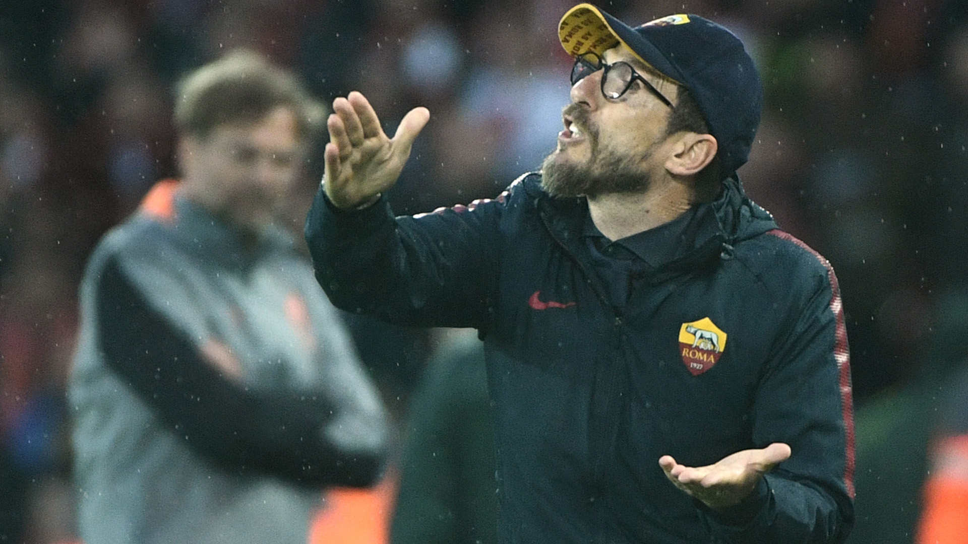 Eusebio Di Francesco Liverpool Roma Champions League