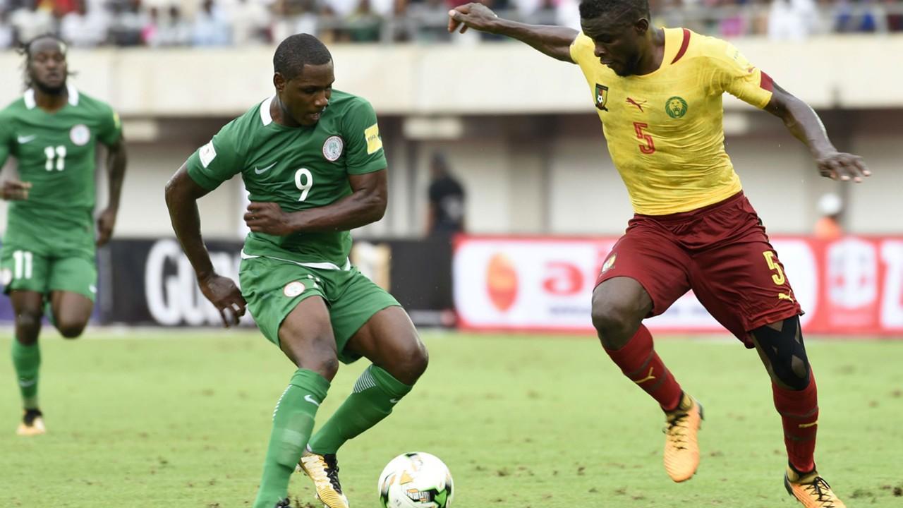Odion Ighalo and Michael Ngadeu