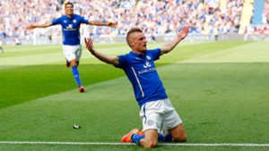 Leicester Manchester United Jamie Vardy 2014-15