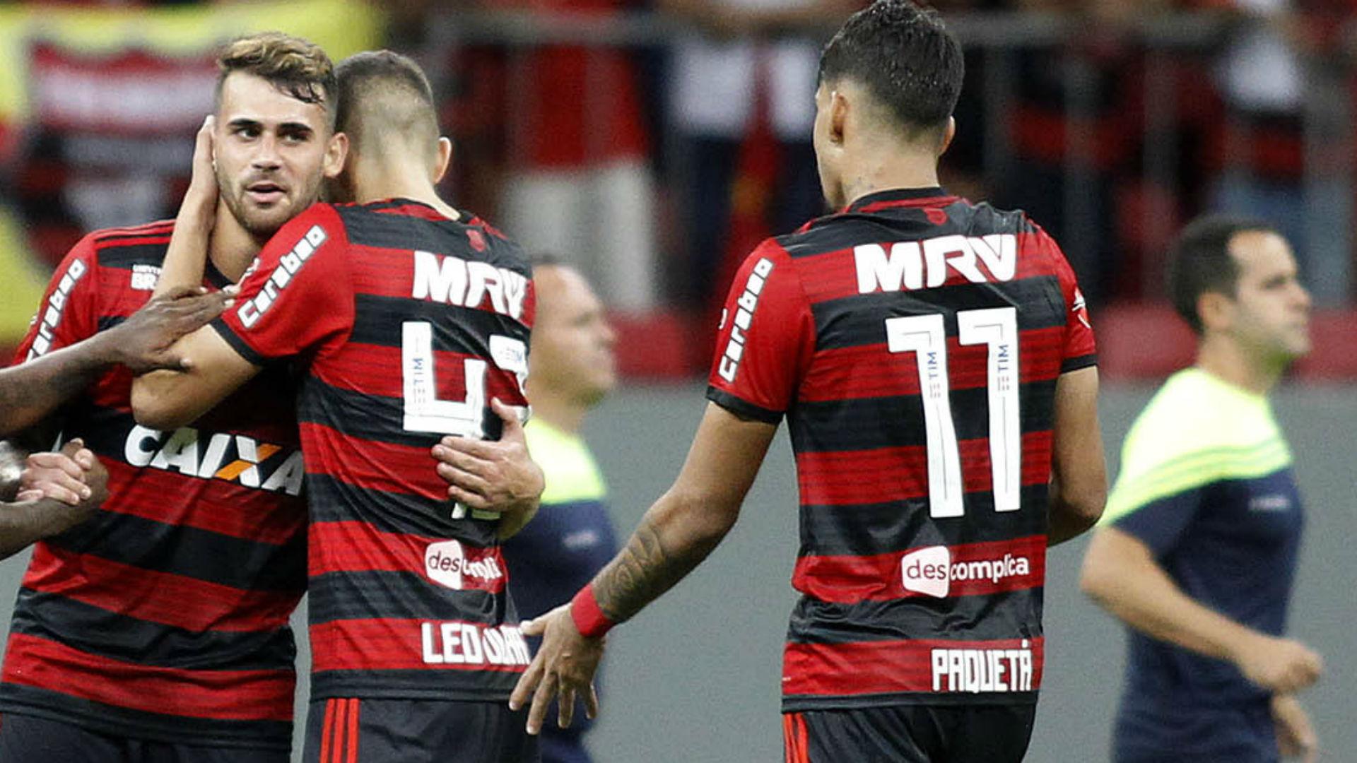 Vizeu Paqueta Flamengo Fluminense Brasileirão 07 06 2018