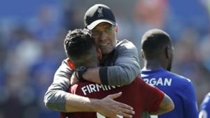 Jurgen Klopp Roberto Firmino Liverpool 2018-19