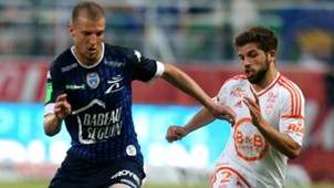 Jimmy Cabot Stephane Darbion Troyes Lorient Ligue 1 25052017