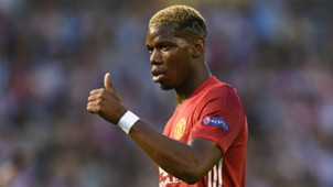 Paul Pogba Celta Manchester United Europa League