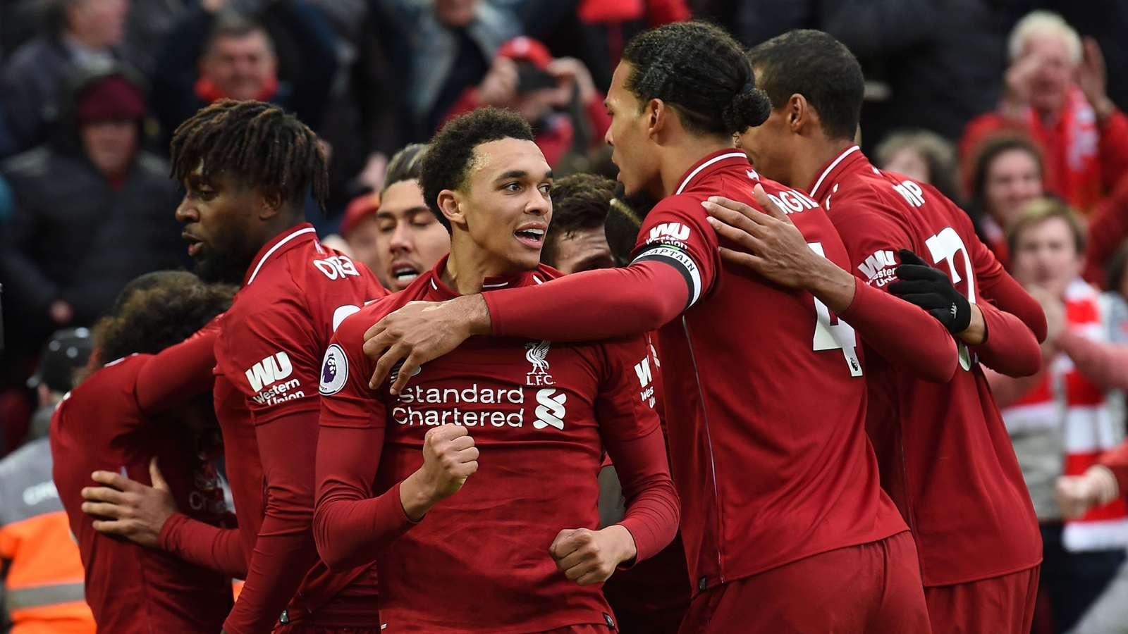 Liverpool-Tottenham 2-1, les Reds s