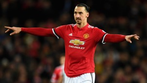 Zlatan Ibrahimovic Manchester United 18112017