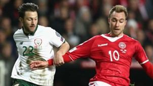Harry Arter Republic of Ireland Christian Eriksen Denmark
