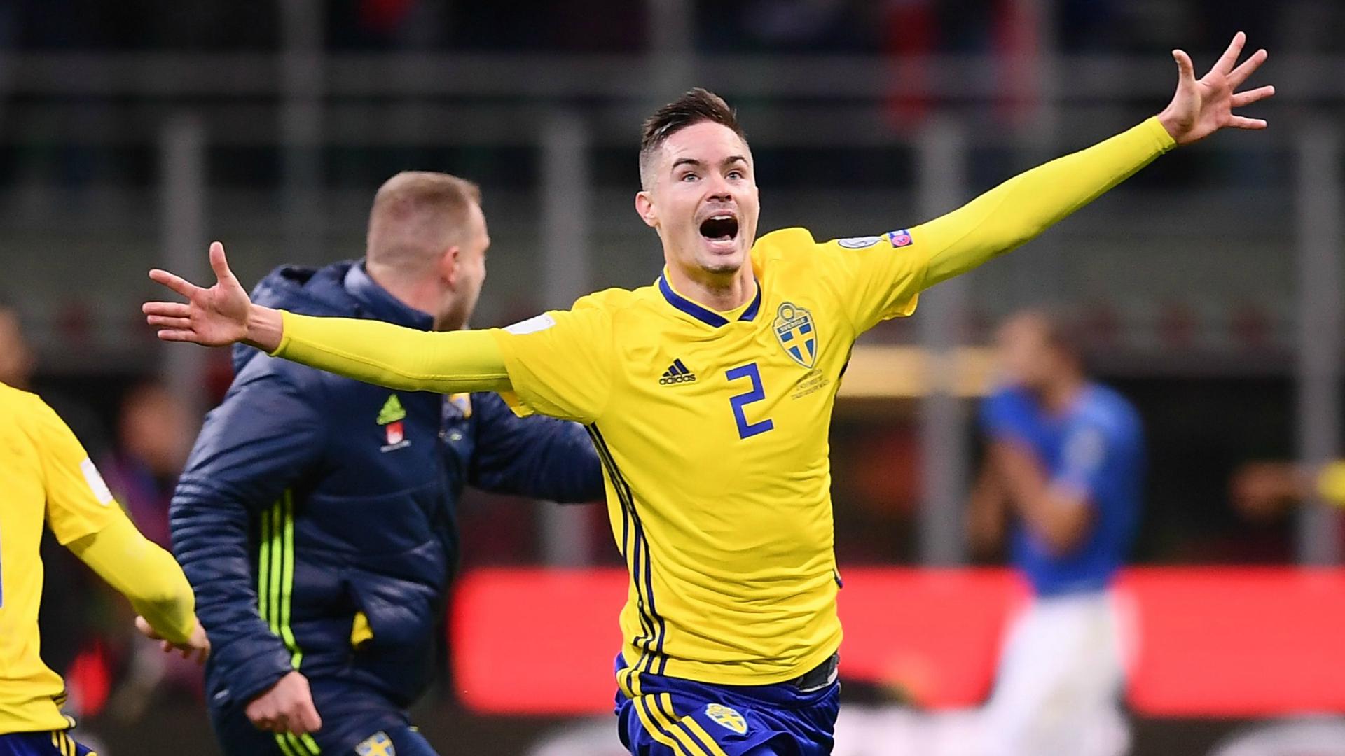 Mikael Lustig insulta gli italiani, la Svezia lo critica