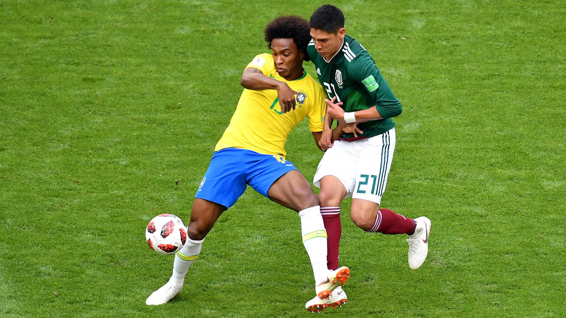 Willian Edson Alvarez Brazil Mexico 2018 World Cup