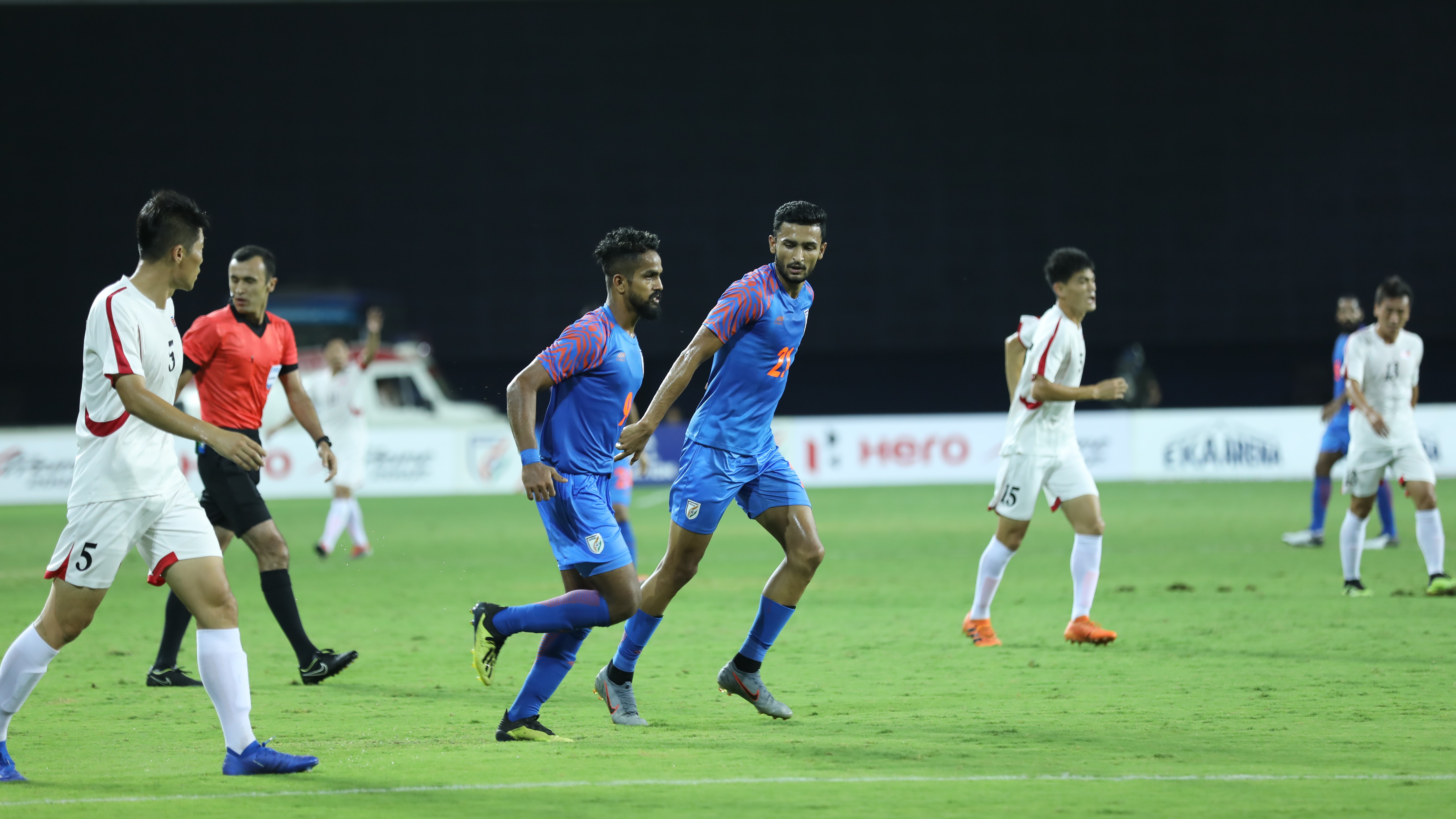 Jobby Justin Manvir Singh India DPR Korea Intercontinental Cup 2019