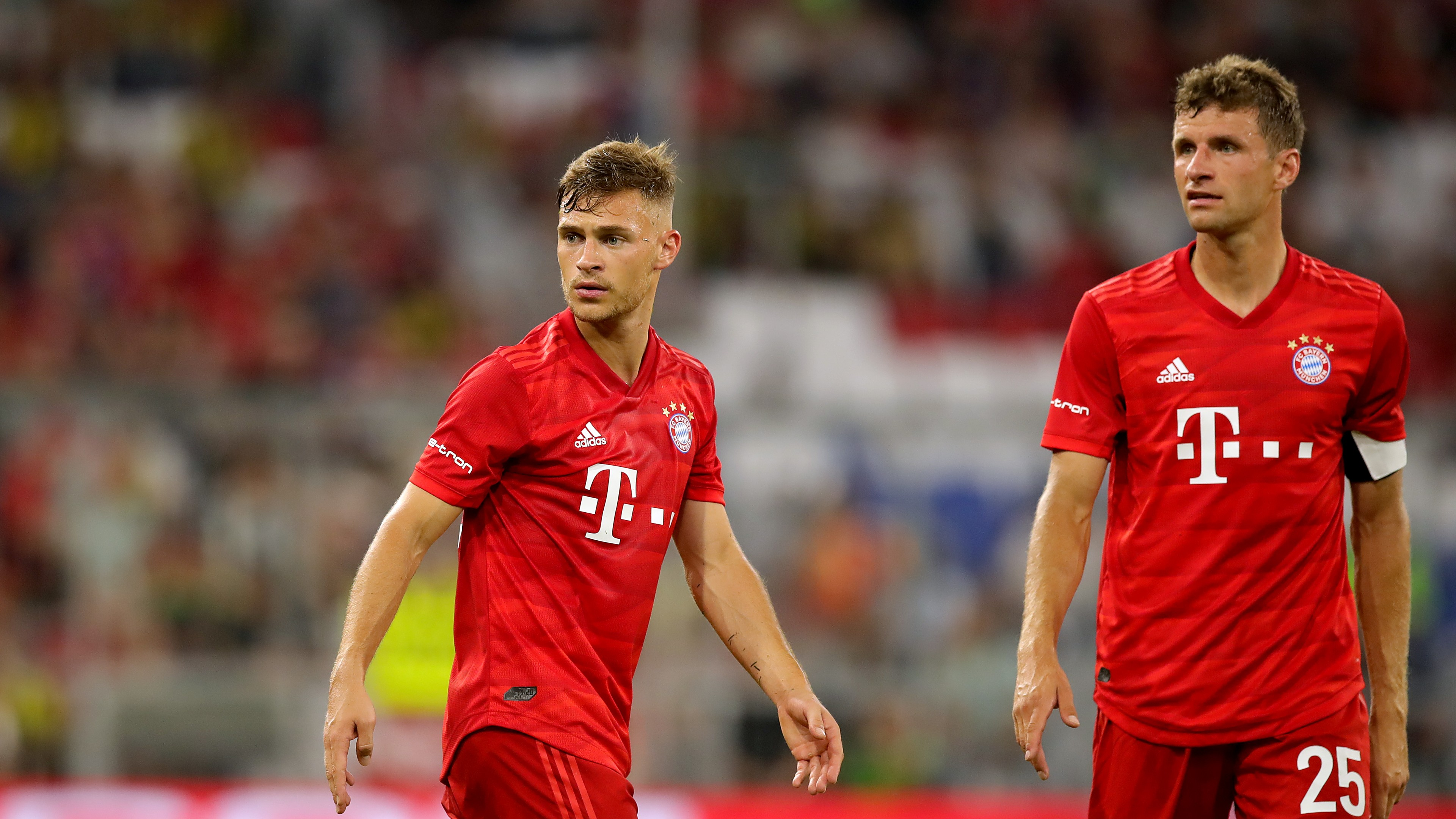 Kimmich can relate to Muller being 'dissatisfied' at Bayern