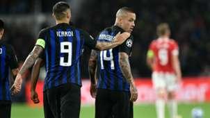 Icardi Nainggolan PSV Inter Champions League