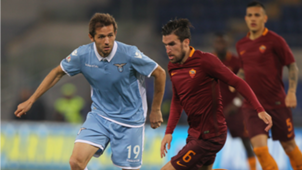 Kevin Strootman Senad Lulic Roma Lazio