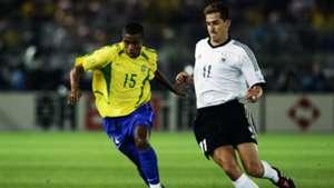 Kleberson Miroslav Klose Brazil Germany 2002