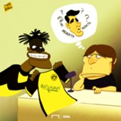 Batshuayi Conte Cartoon