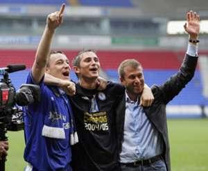 Frank Lampard, John Terry, Roman Abramovich