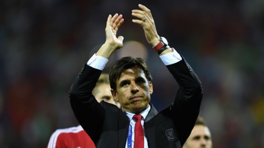 Chris Coleman Euro 2016 Portugal v Wales