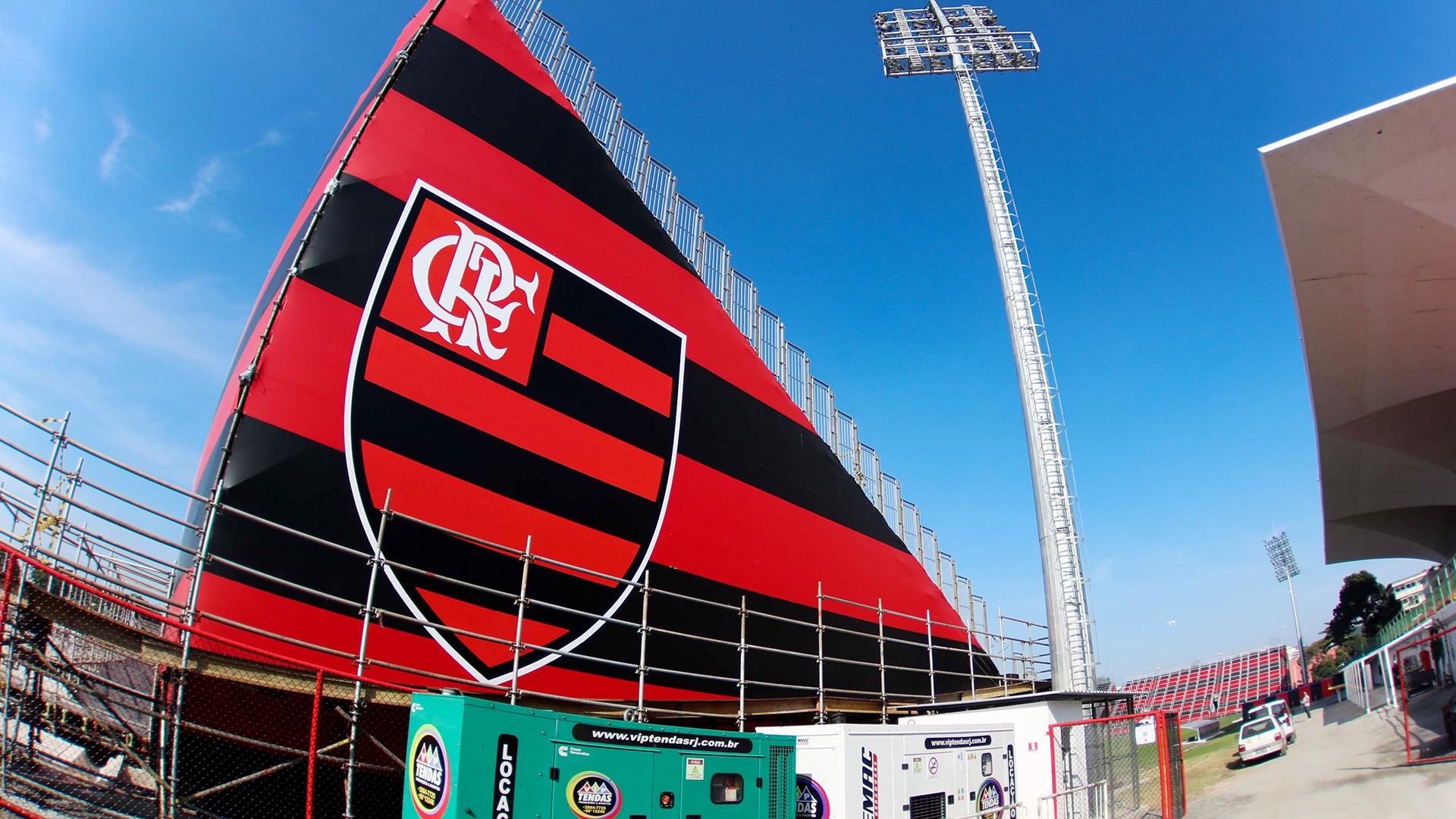 Flamengo Ilha do Urubu 2017