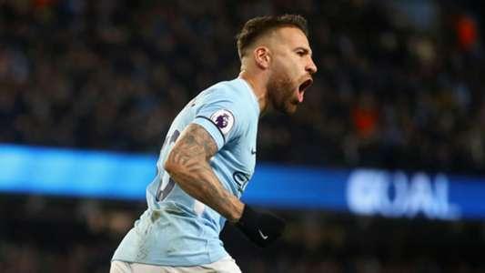 Nicolas Otamendi Manchester City 031217