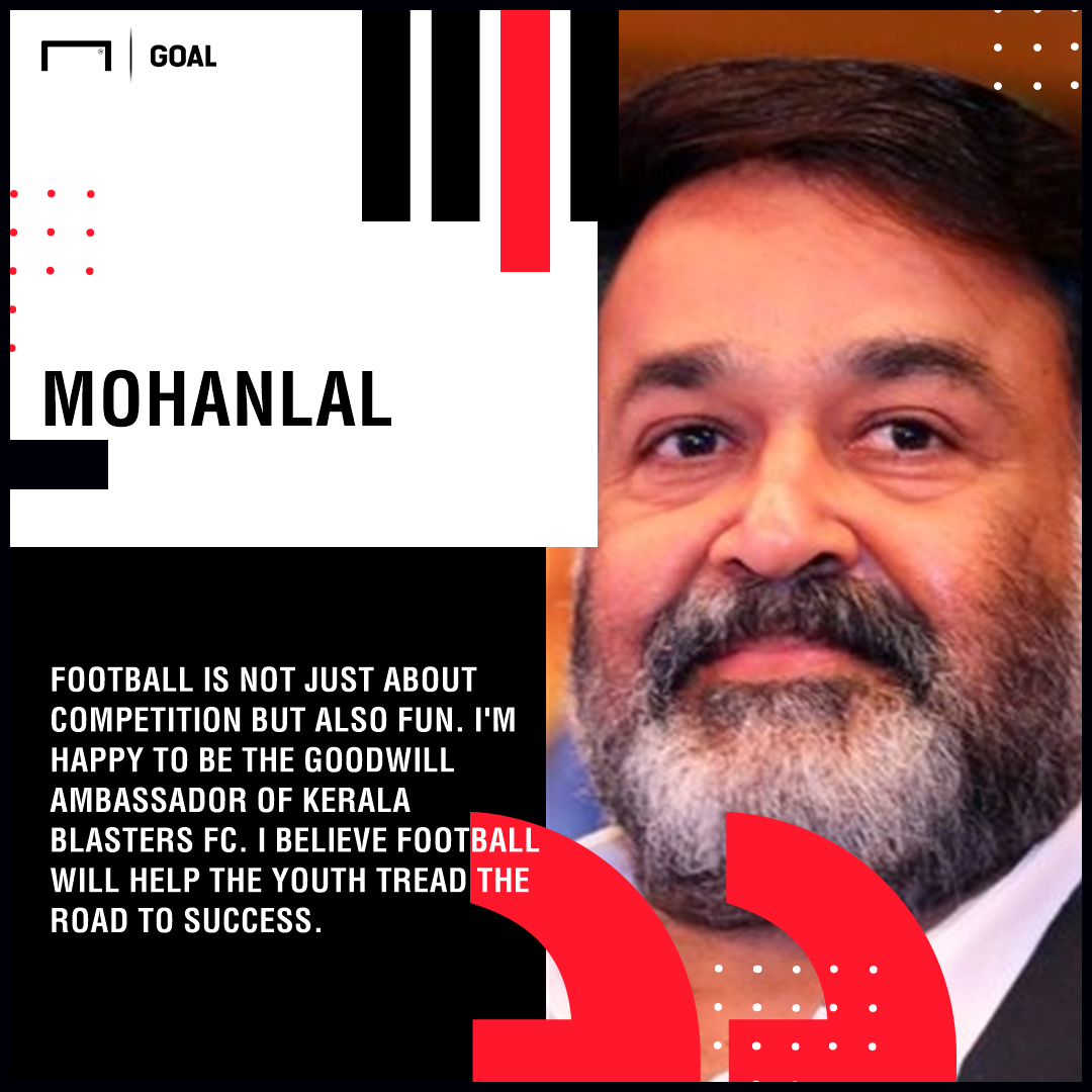 Mohanlal Kerala Blasters