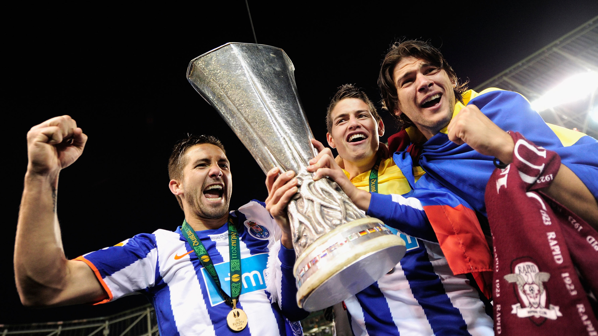 james rodriguez fc porto europa league 2011