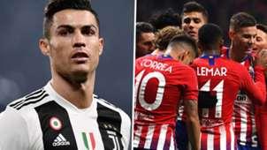 GFX Ronaldo Juventus Atletico Madrid