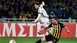 Riccardo Montolivo AEK Athens Milan UEFA Europa League 11022017