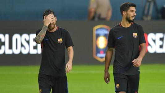 Lionel Messi Luis Suarez Barceloa