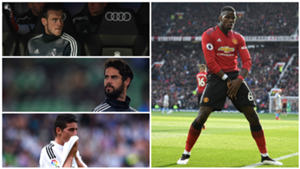GFX Info Paul Pogba, Gareth Bale, Isco Alarcon and James Rodriguez, part of Real Madrid transfer market
