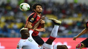Ahmed Hegazy, Egypt and Artiside Bance, Burkina Faso