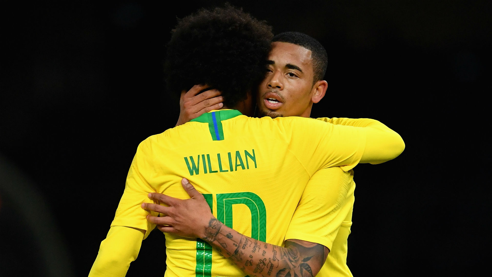 Willian Gabriel Jesus Brasil Seleção Alemanha amistoso 27 03 2018