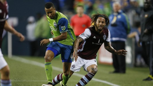 Jermaine Jones Tyrone Mears Colorado Rapids Seattle Sounders MLS 05212016
