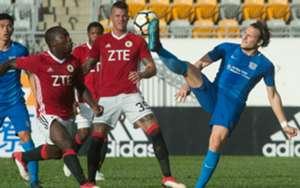 Fa cup semi final, Kitchee 4:1 won over Pegasus.