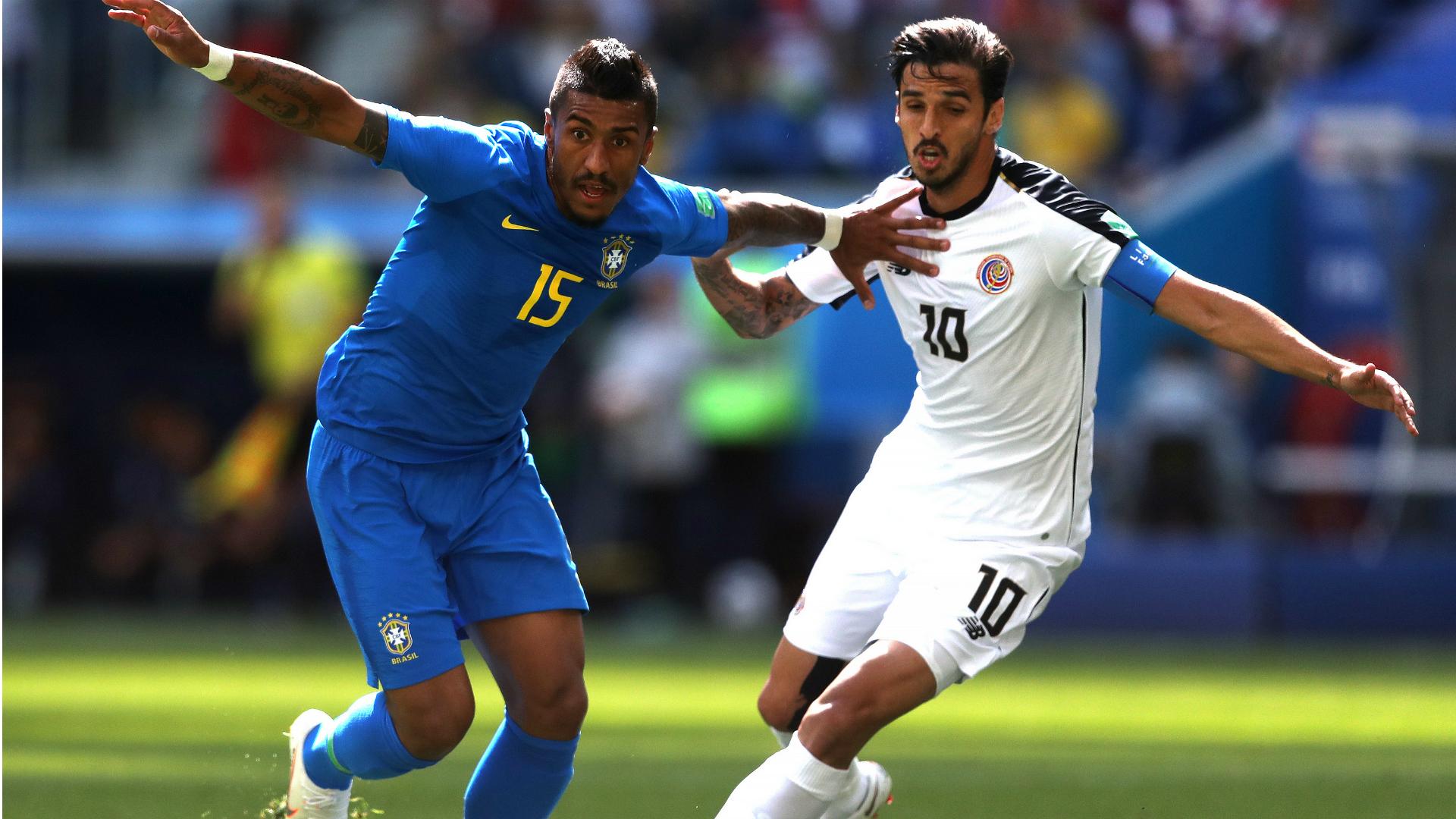 Paulinho I Brasil Costa Rica I 22 06 18  I Copa do Mundo