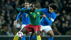 Marquinhos Stephane Bahoken Brazil Cameroon Friendly 20112018