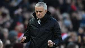 Jose Mourinho Manchester United Fulham