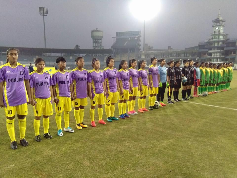 Punjab football senior women