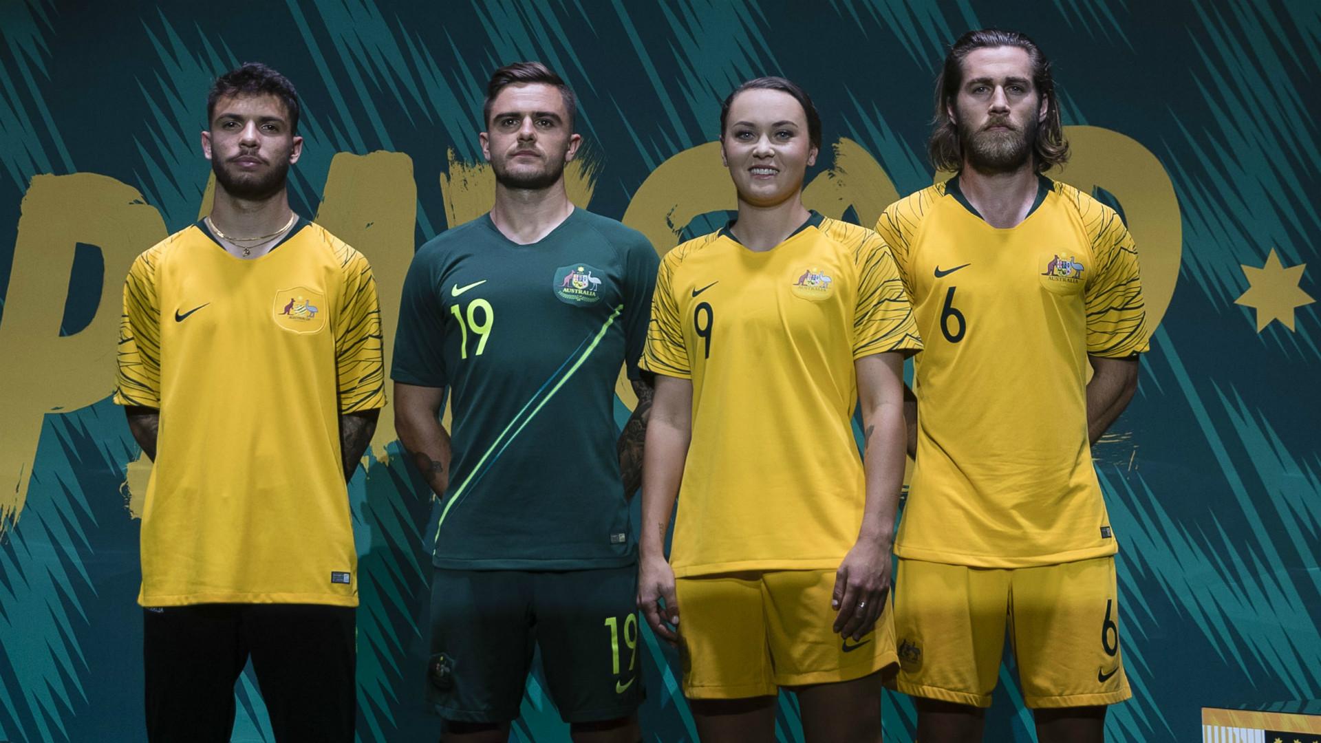 Australia Camiseta Titular Home Kit 2018