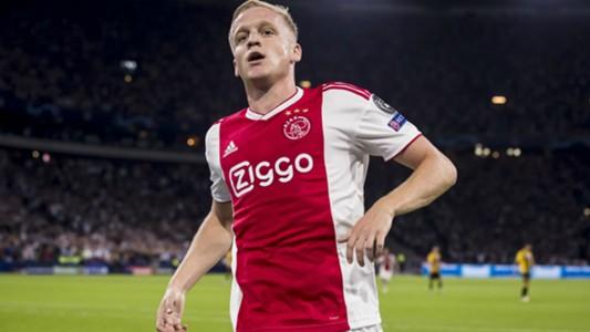 Donny van de Beek Ajax Champions League 09192018