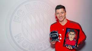 Robert Lewandowski GOAL 50