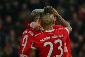 Lewandowski Müller Vidal Bayern