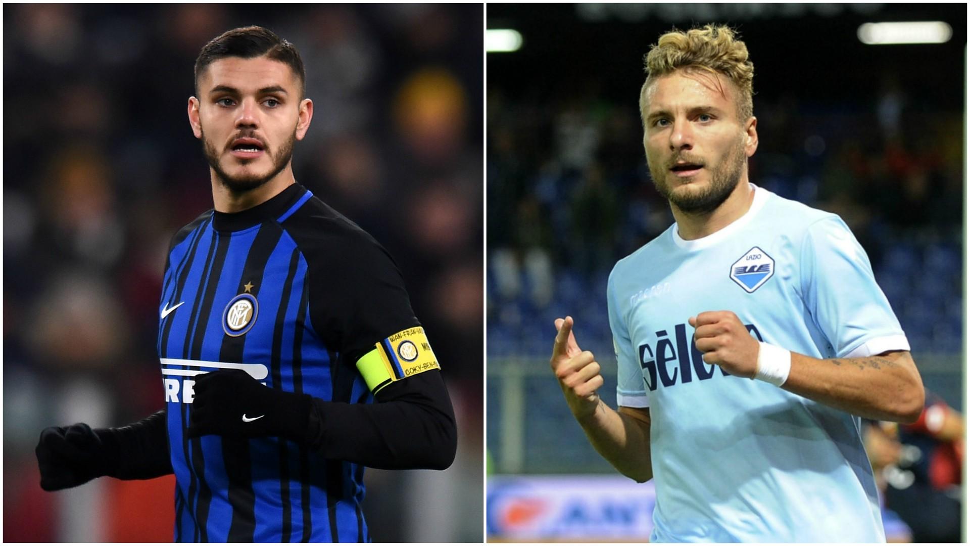 Inter e Lazio, i numeri lo confermano: fondamentale recuperare Icardi e Immobile