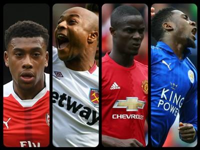 Iwobi, Ayew, Bailly, Ndidi