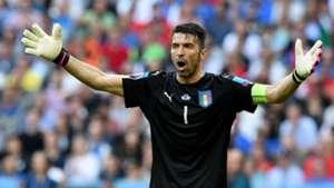 Gianluigi Buffon Italy Spain Euro 2016